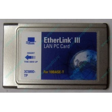 Сетевая карта 3COM Etherlink III 3C589D-TP (PCMCIA) без LAN кабеля (без хвоста) - Наро-Фоминск